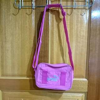 PUMA 粉桃色側背小包