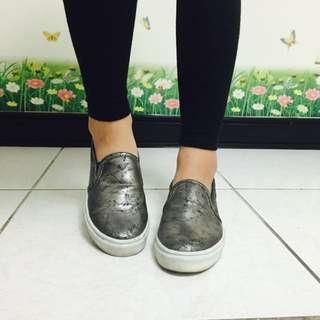 潑漆平底鞋23cm