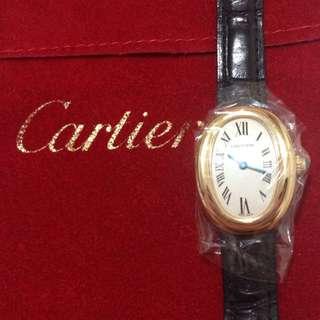 下殺📢📢📢卡地亞Cartier經典18K金手錶
