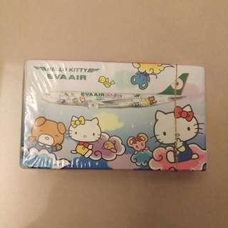 長榮 Kitty 撲克牌