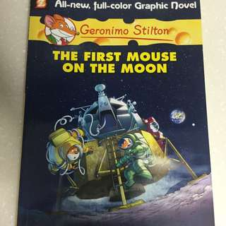 Geronimo Stilton The First Mouse On The Moon