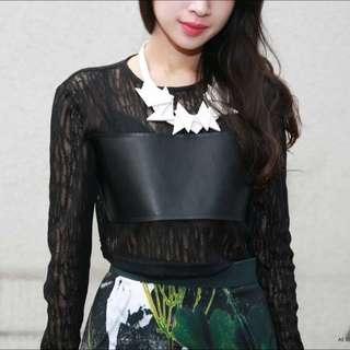Mossstories 設計師品牌 精緻時尚皮項鍊