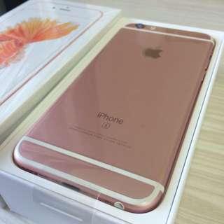 iPhone6s玫瑰金64G