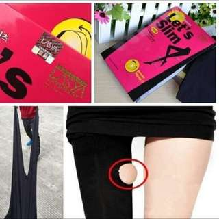 10月熱門新貨~正品 韓國 let s lets slim 壓力打底連褲襪燃脂美腿塑形襪 瘦腿襪