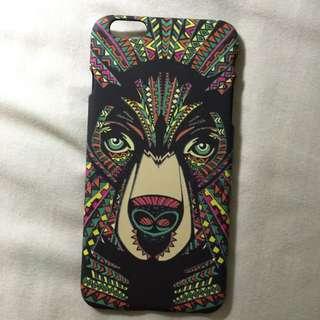 幾何熊🐻動物手機殼 Apple iPhone 6 plus i6 Plus