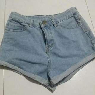 Paperbag High Waist Shorts
