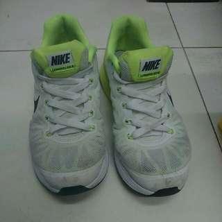 Nike Lunarglide 6 螢光 黃 白(降)