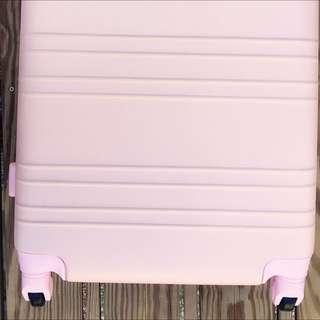johnmichael1771/行李箱24吋/淡粉色/時尚