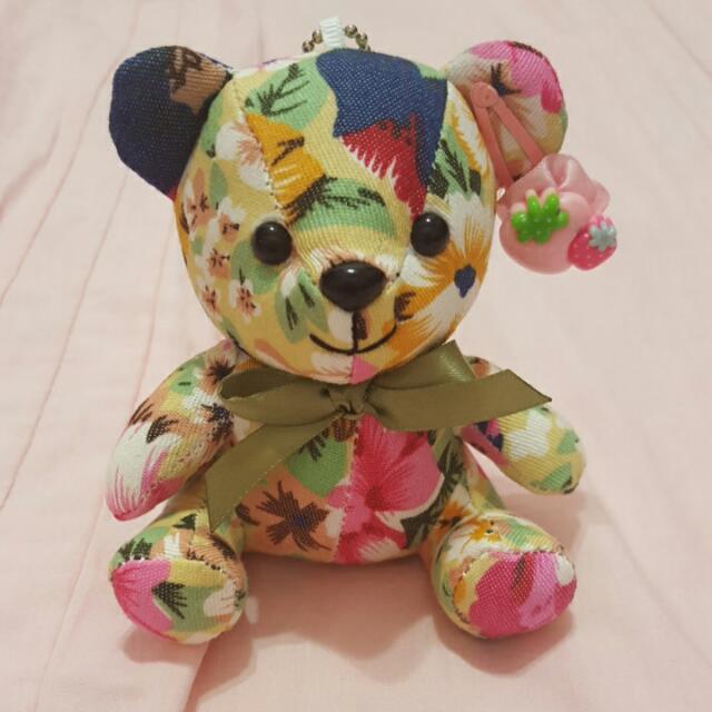 可愛熊熊布偶吊飾