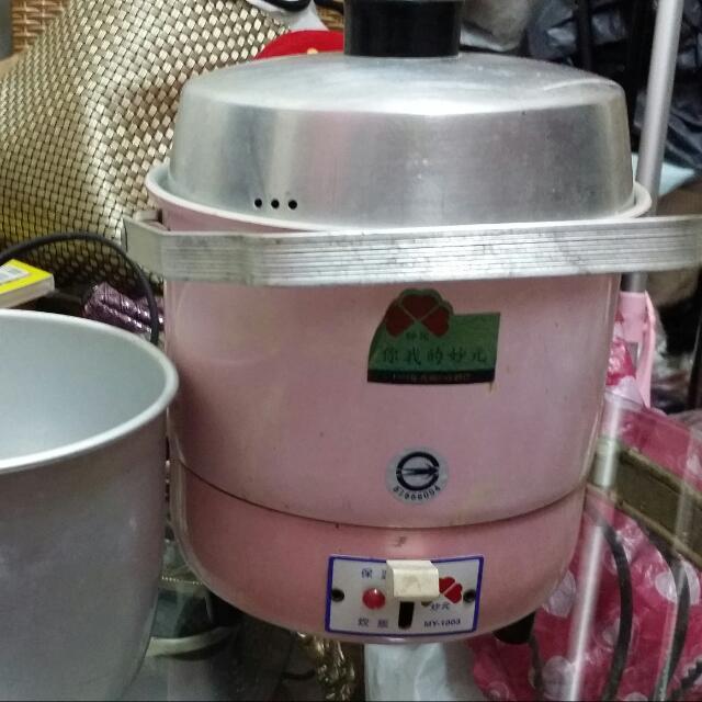小電鍋,粉色