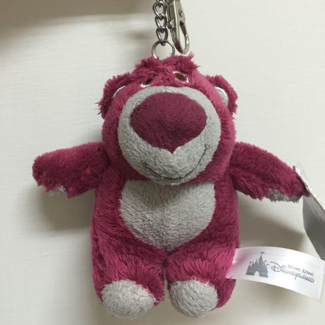 香港迪士尼熊抱哥鑰匙圈