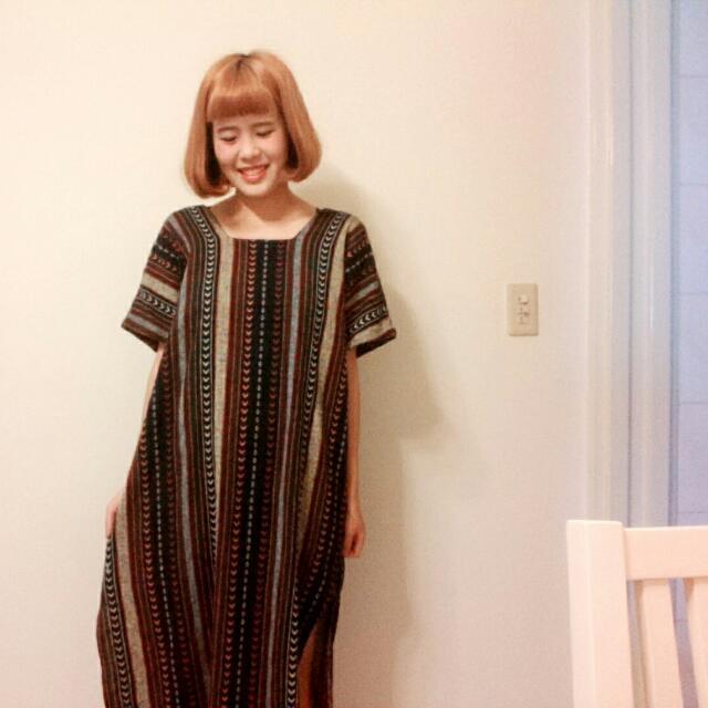 民俗圖騰洋裝