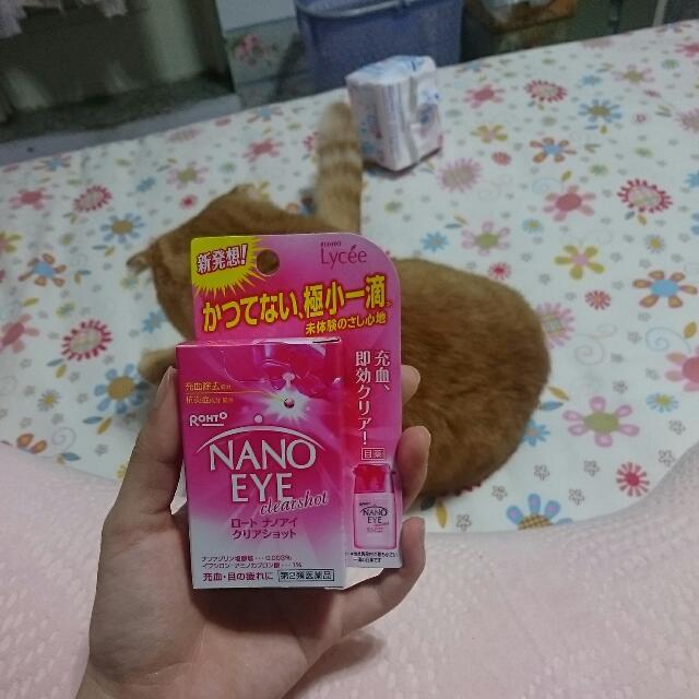 日本帶回小花眼藥水