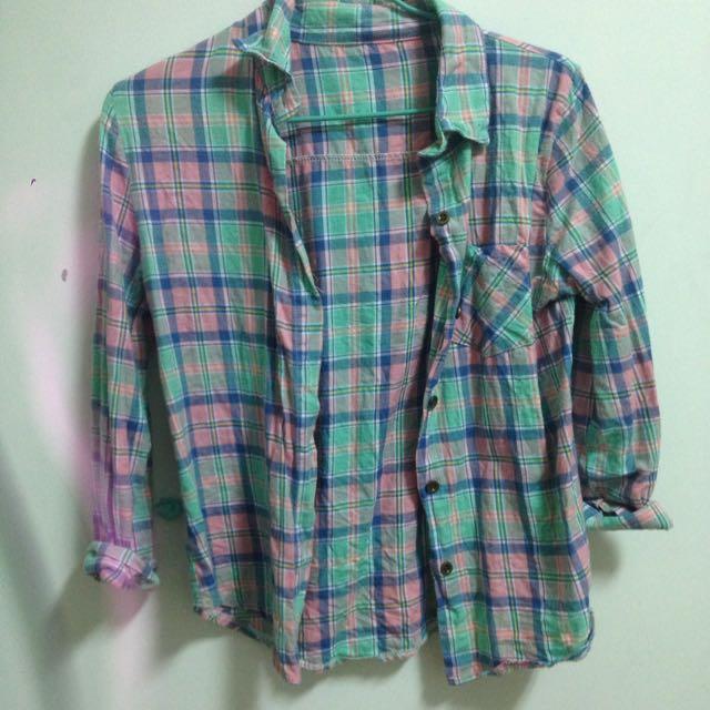 格子襯衫(兩種款式)