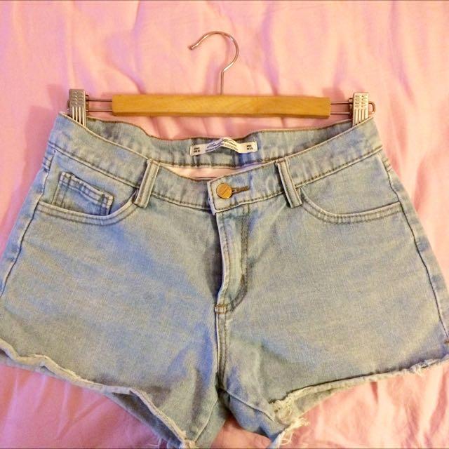 (暫售)牛仔短褲
