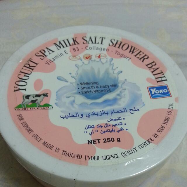 磨砂沐浴鹽