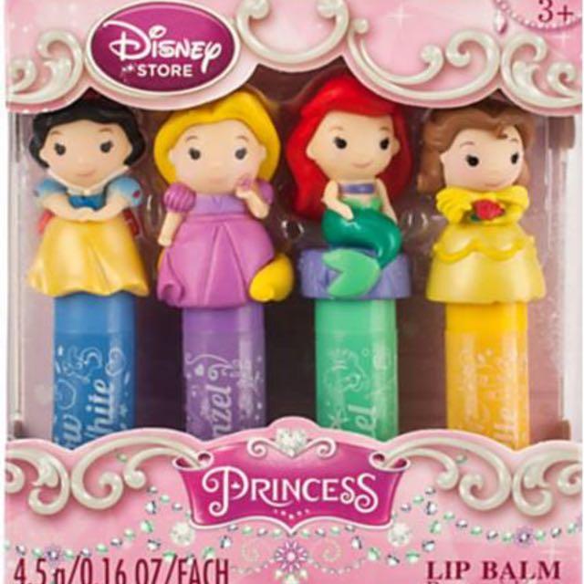 迪士尼 公主系列護唇膏