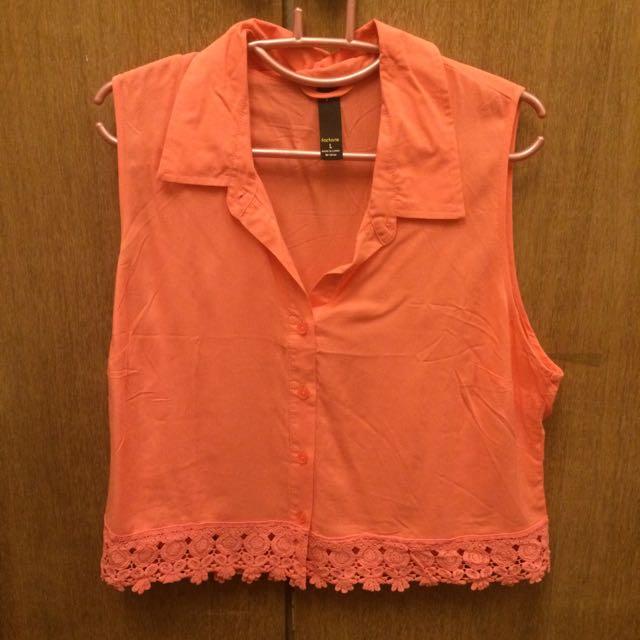 ✨ (BNWOT) Orange Factorie Crop Top