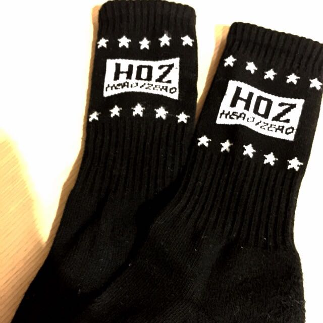 [ HOZ ] 黑色長襪