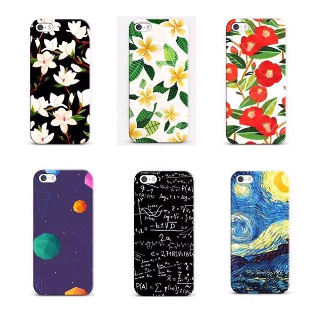 花朵星球數學符號梵谷 iPhone 手機殼