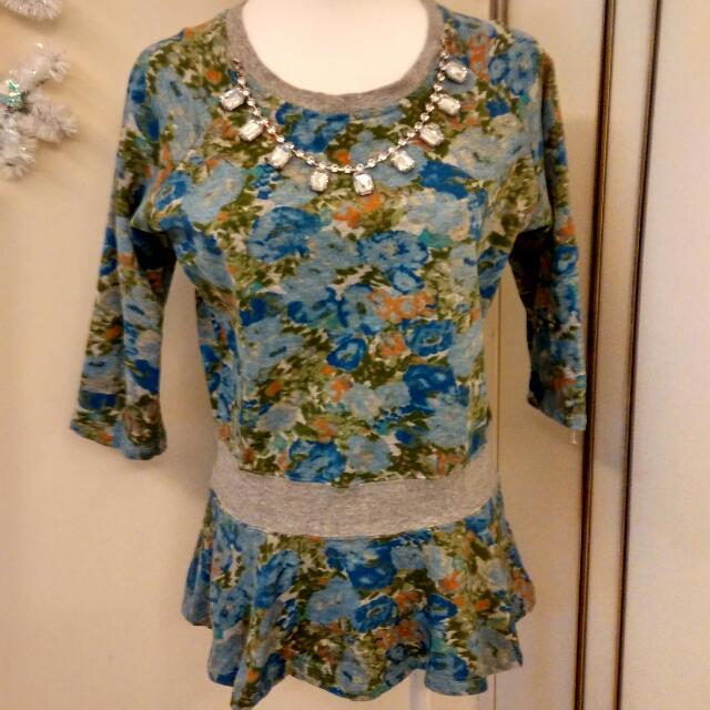 (含郵運) LOWRYS FARM 彈性連身裙