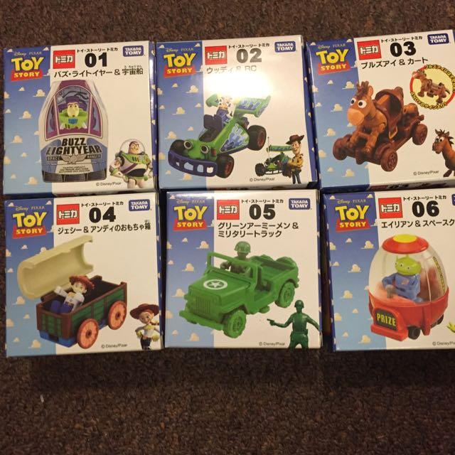 玩具總動員 Tomica多美小汽車 一套