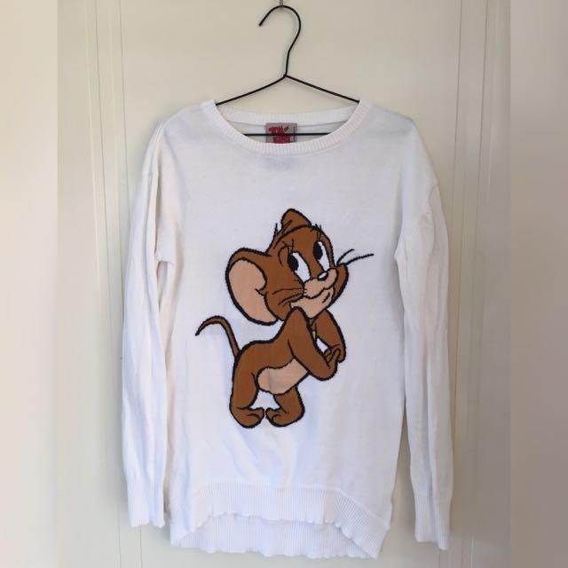 BERSHKA Tom And Jerry Jumper