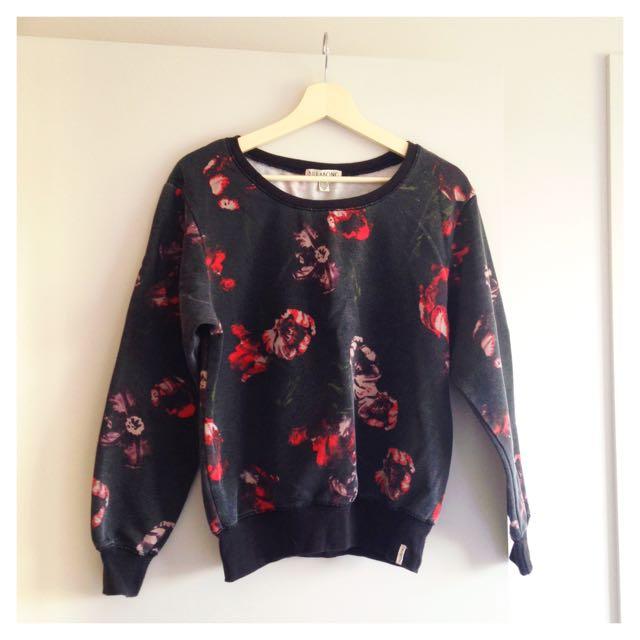 Billabong Soft Floral Sweater