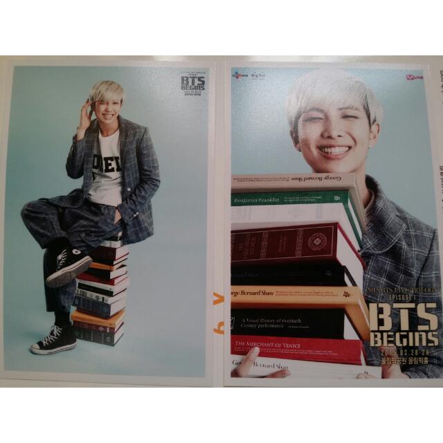 BTS 金南俊 BEING 照片組
