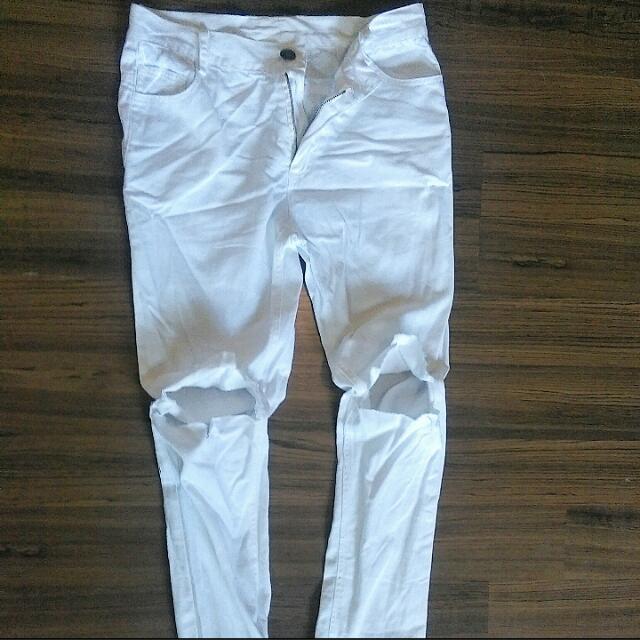 DIY自割長褲