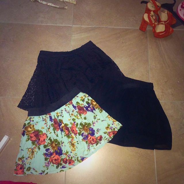 Elastic Waistband skirts