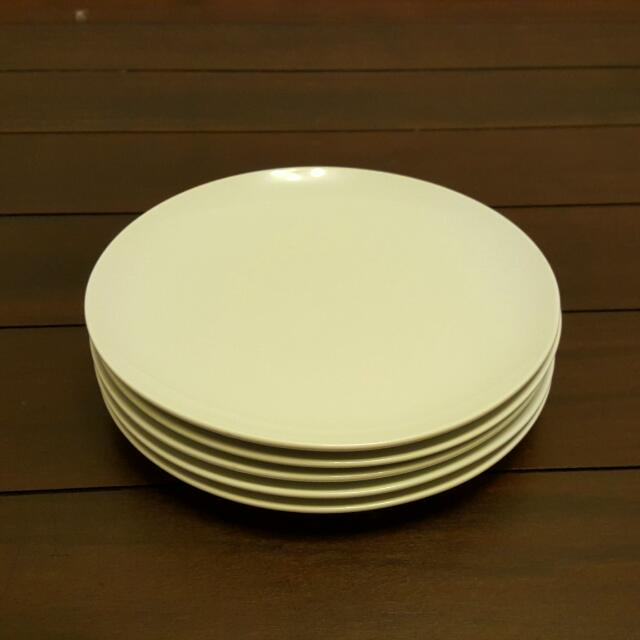 IKEA DINNERA series white plates. Set Of 5 plates measuring 26cm across. Home Appliances on Carousell & IKEA DINNERA series white plates. Set Of 5 plates measuring 26cm ...