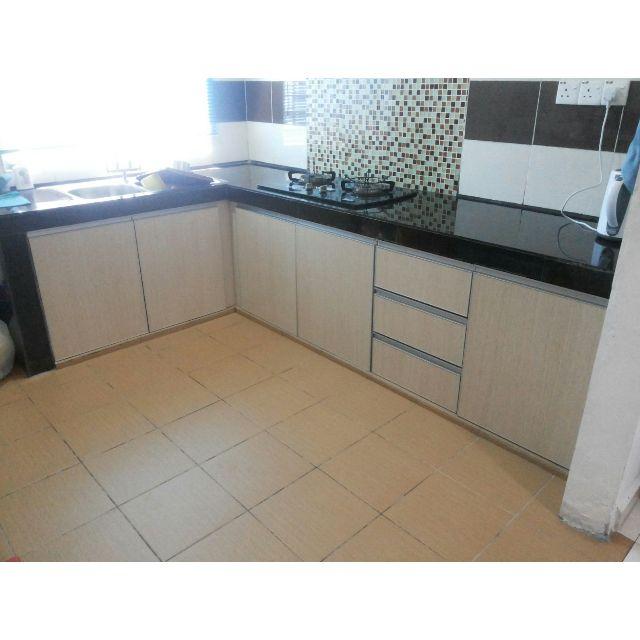 Aluminium Kitchen Cabinet Malaysia: Image Kabinet Dapur