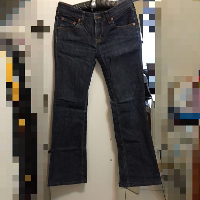Levi's 牛仔褲 喇叭褲