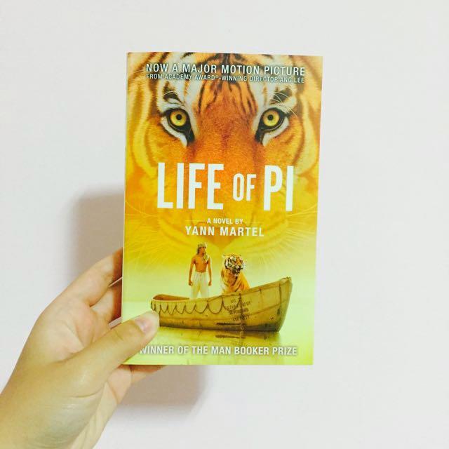 Life Of Pi 少年Pi的奇幻漂流 原文書