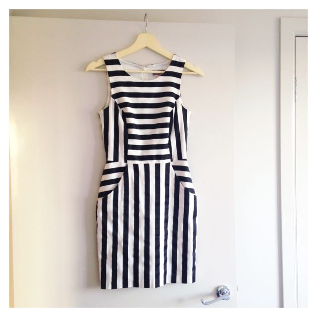 Lipsy Striped Dress