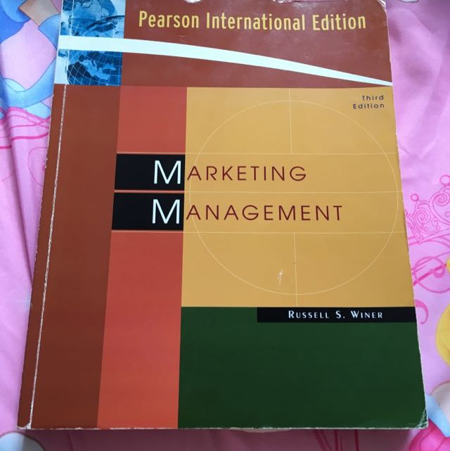 Marketing Management By Russell S Winer