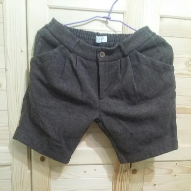 毛呢短褲(M~L)
