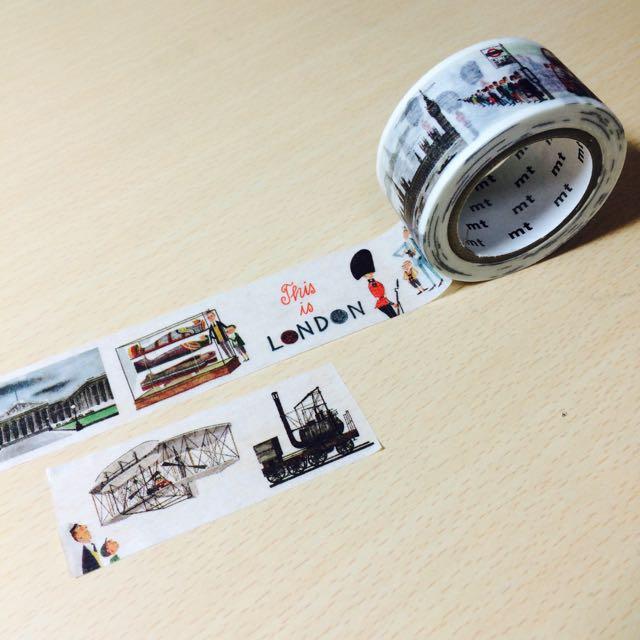 日本Mt紙膠帶-倫敦