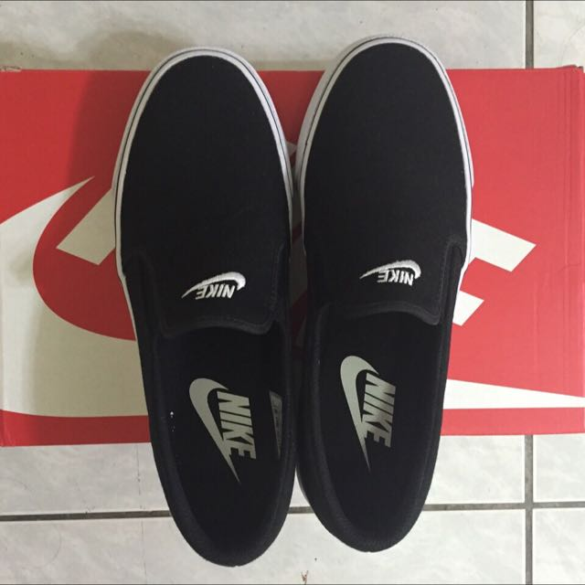 Nike Toki Slip Txt 懶人鞋 黑 24cm