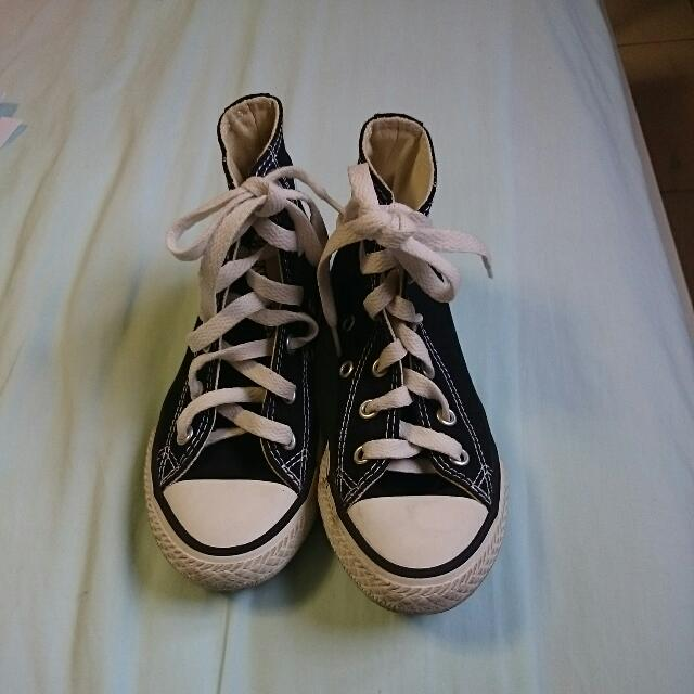 dae1b7aeb52d Preloved CONVERSE High Cut Shoes
