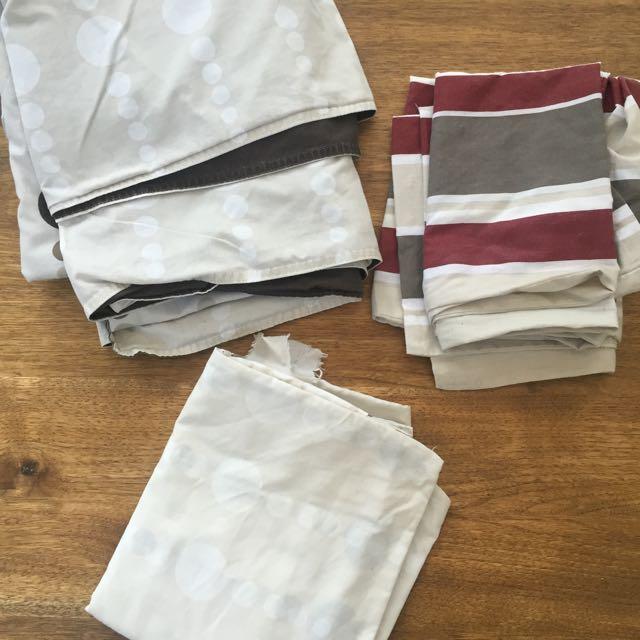 Queen Doona Cover 4 Pillow Cases