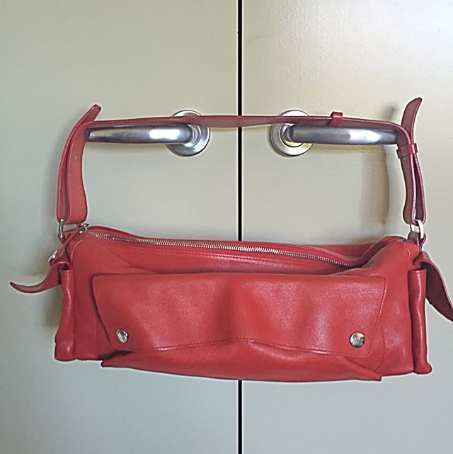Red Furla Handbag Small