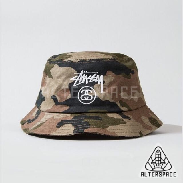 Stussy Camo Bucket Hat 25cdcb6dcef