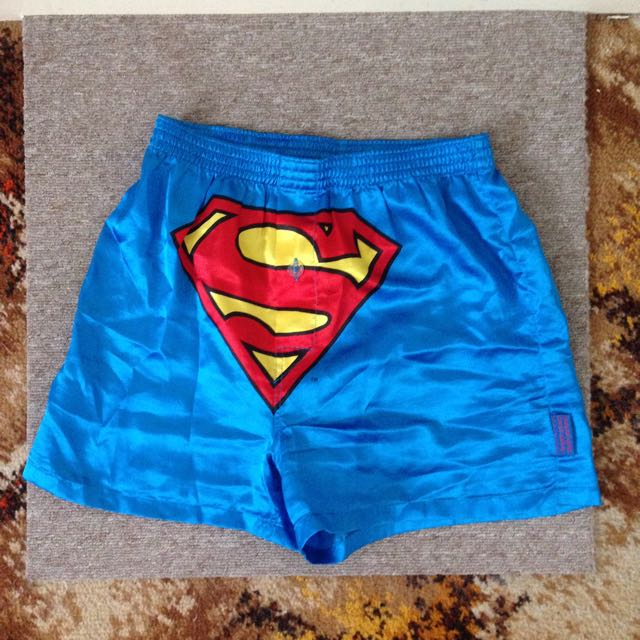 Superman Pj Shorts