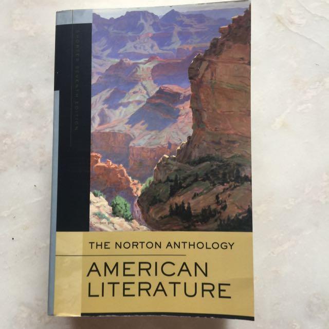 The Norton Anthology American Literature 美國文學