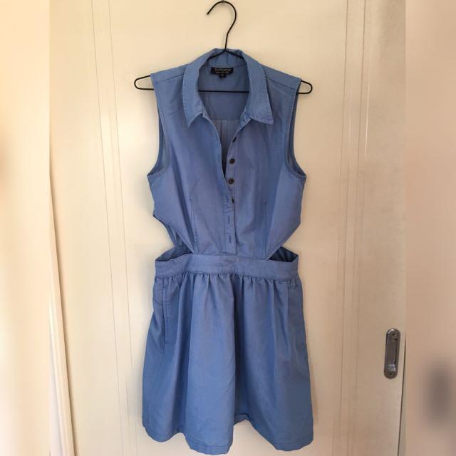 TOPSHOP Cut Out Dress