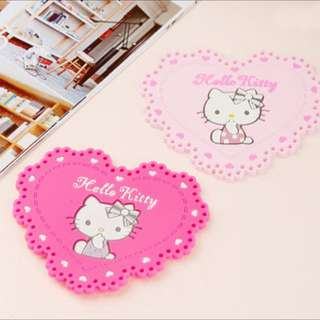 Hello Kitty 杯墊 (1個 NT80)