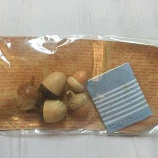 🚚 米力 生活雜貨鋪購買 橡樹果實 木作