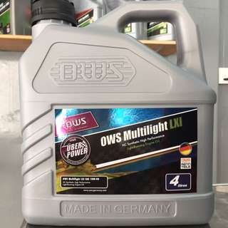 OWS Germany Multilight LXI HC 10w40 Fully Synthetic High Performance Engine Oil